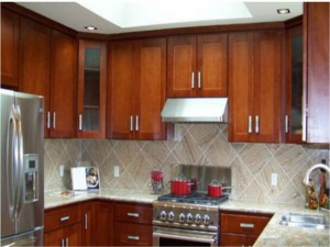Cherry cabinets I