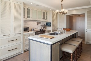 Louvered Kitchen Room