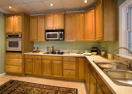 Oak Cabinets V