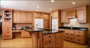 Oak cabinets I