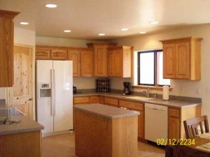 Oak cabinets II