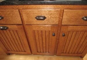 Red Oak cabinet Inspiration