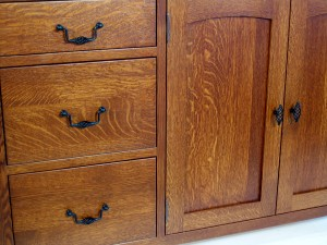 Red Oak cabinet Inspiration I