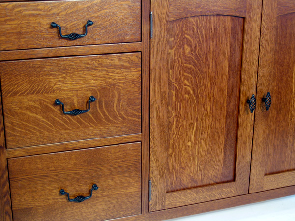 Red Oak Cabinet Inspirations | Reeds Custom Cabinets