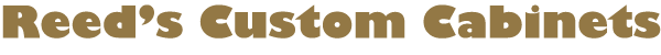 Reeds Custom Cabinets Logo